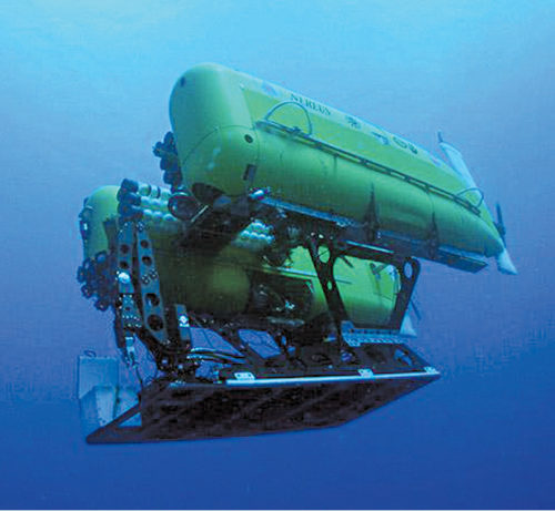 Nereus, the world's deepest diving underwater vehicle