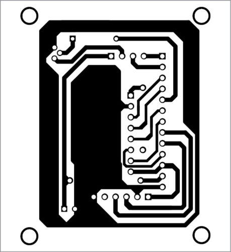 PCB layout of air quality monitor