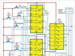 Joystick for Robot Circuit Diagram