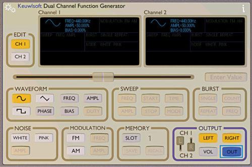 Function Generator app