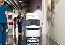 Aethon TUG cobot automates delivery and material movement in hospitals