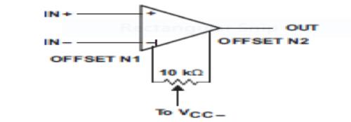 Input Offset Voltage Null Circuit