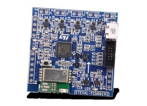 STMicroelectronics' STEVAL-FCU001V1 evaluation board