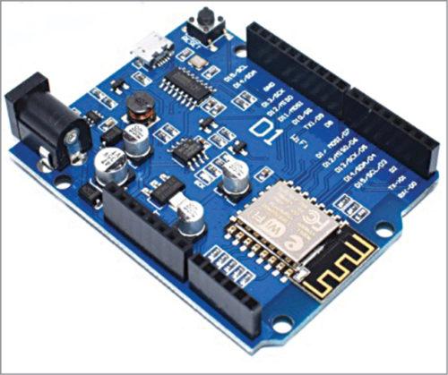 WeMos D1 R2 board