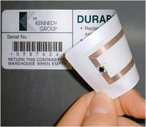 A passive RFID Tag (Credit: www.indiamart.com)