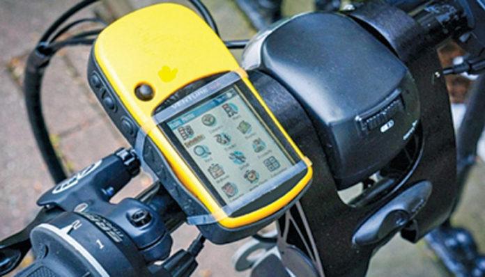 Solar USB Bicycle Power Box