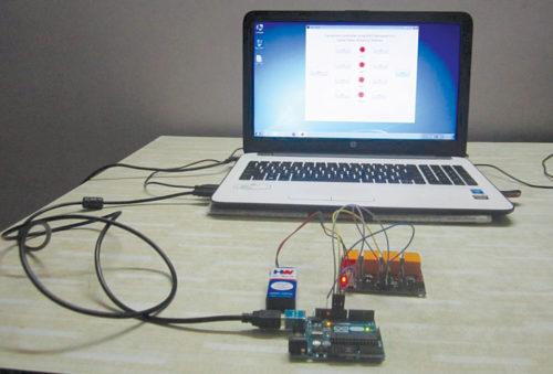 Prototype of the equipment controller