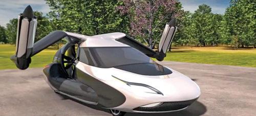 Terrafugia autonomous flying car (Credit: https://terrafugia.com)
