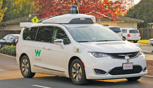 Waymo, the first commercial self-driving car (Credit: https://en.wikipedia.org)
