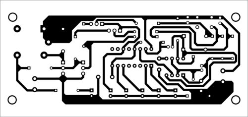 PCB layout for accidental switching protection