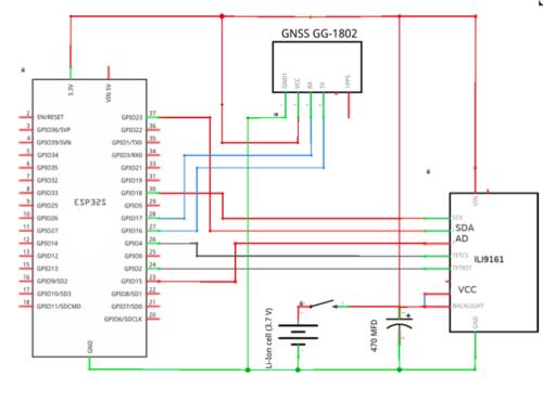 GPS Receiver Schematic