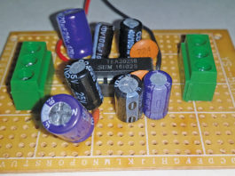 Author Prototype for 5W Stereo Audio Amplifier