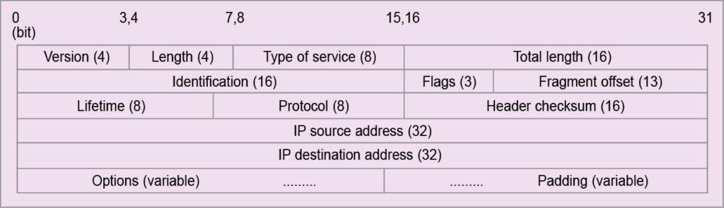 IPv4 headers