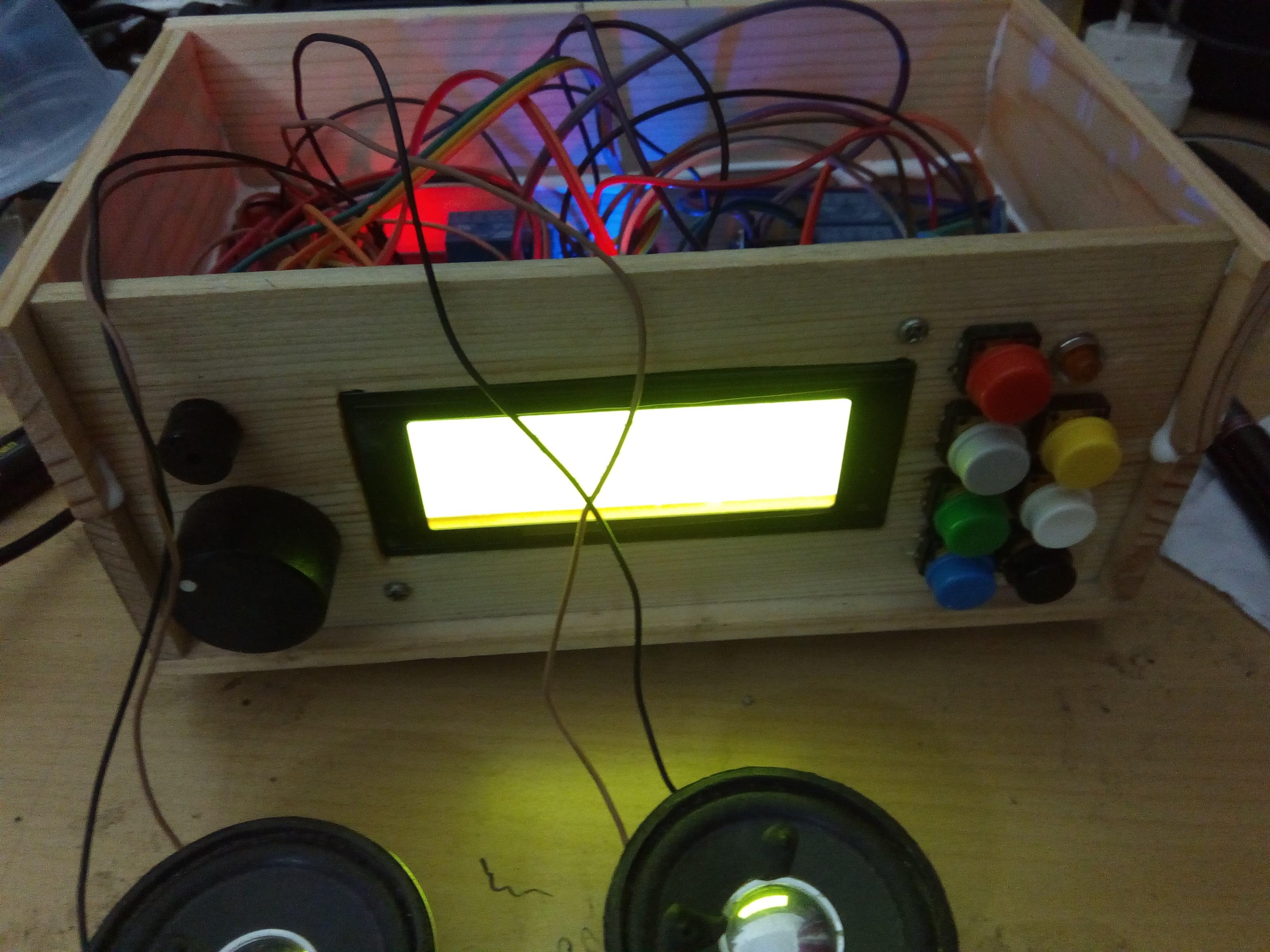 Alarm Clock Radio Using Arduino