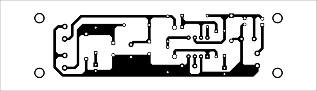 PCB layout of DC-to-DC converter