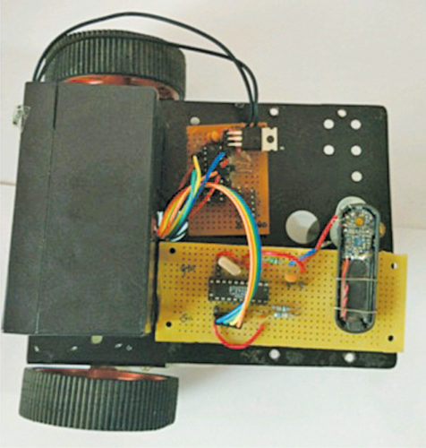 Author's prototype of the robot