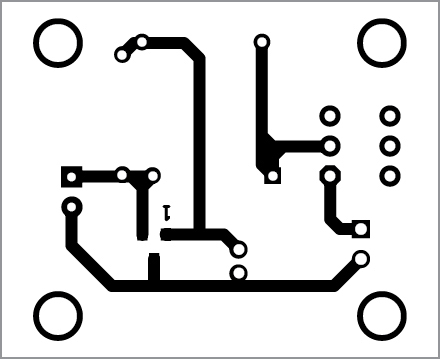 PCB layout of torchlight in bootstrap mode