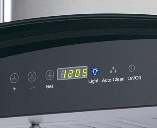 Elica 1200m3/hr heat auto-clean with touch control