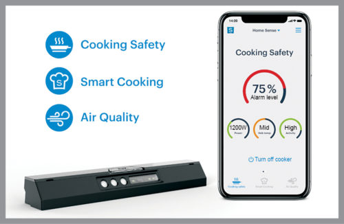 Safera sensor for smart cooking