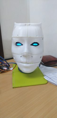 IoT Face Recognition AI Robot