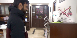 Designing IoT Face Recognition AI Robot