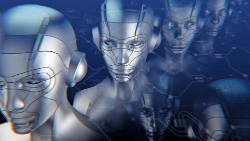 Representation of AI robots (Credit: www.marketwatch.com)
