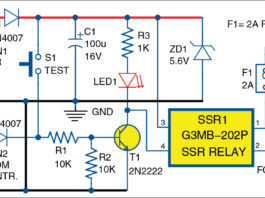 Solid-state relay driver circuit
