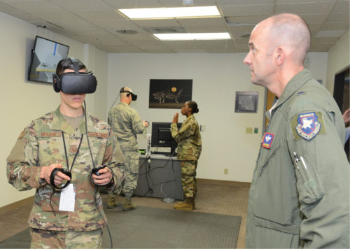 AR and VR for military training needs (Credit: www.hill.af.mil)