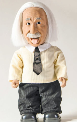 Professor Einstein robot (Credit: interestingengineers.com)