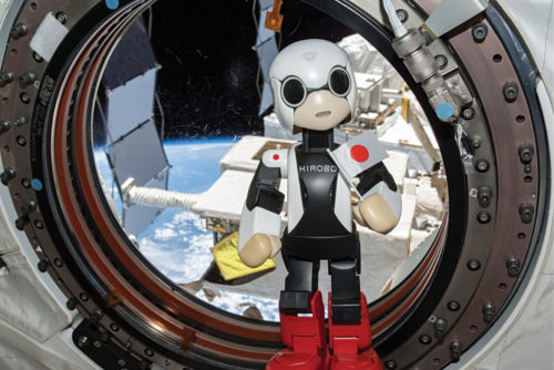 Kirobo social robot speaks from International Space Station (Credit: https://newatlas.com)