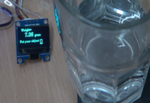 Portable digital weighing machine