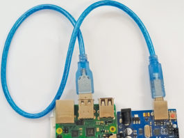 Author prototype of Setting up Arduino as a slave device
