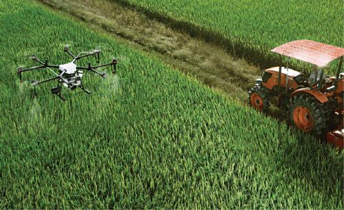 Drones for irrigation (Credit: Pixabay)