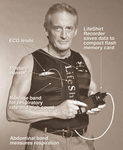LifeShirt monitors the wearer's vital signs (Credit: www.virtualworldlets.net)