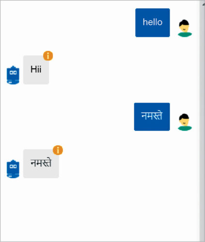 Multi-language bot