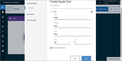 Create Gauge Card