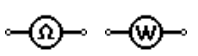 Ohmmeter/Wattmeter