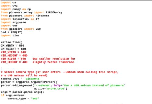 Tensor Flow code