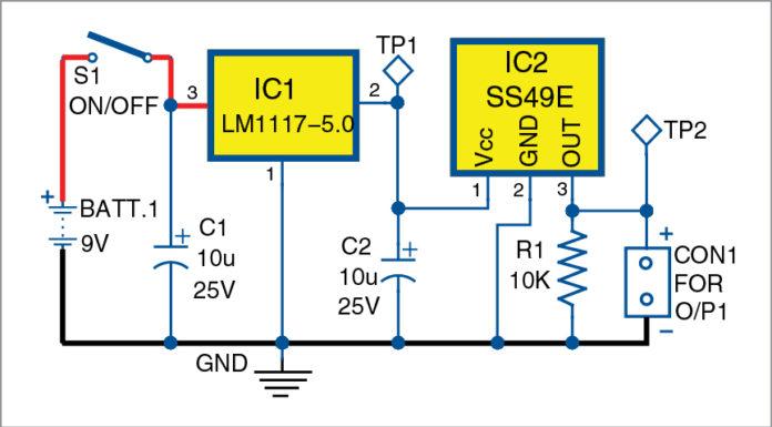 Gauss Meter Circuit