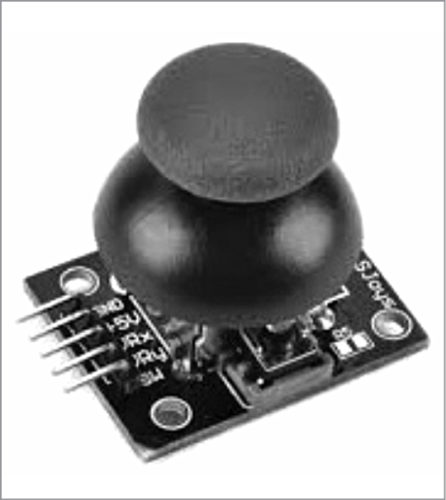 Image of the joystick that will be used in Joystick Controlled Robot