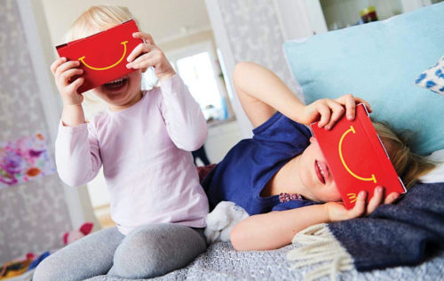 Sweden's McDonald's turns its happy meal box into VR goggles (Credit: www.campaignlive.co.uk)
