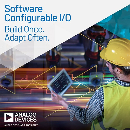 Software Configurable Industrial I/O Modules for Control and Automation