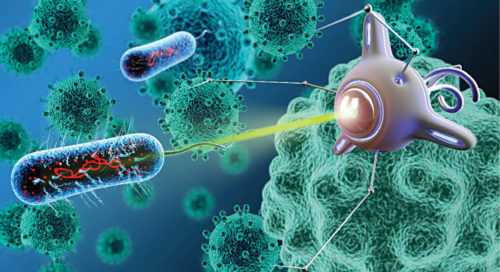 Bacteriobot, a medical nanorobot used to treat cancer