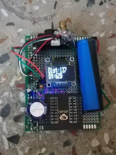 TFMini TOF laser Prototype