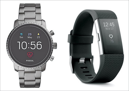 Smartwatch versus fitness band