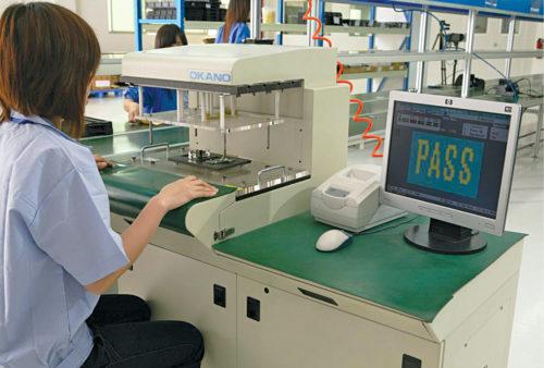 An ICT tester