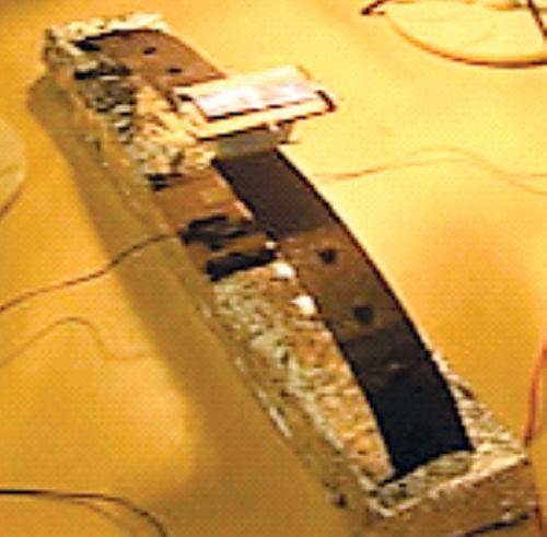 Arch-type heliotropic solar cell