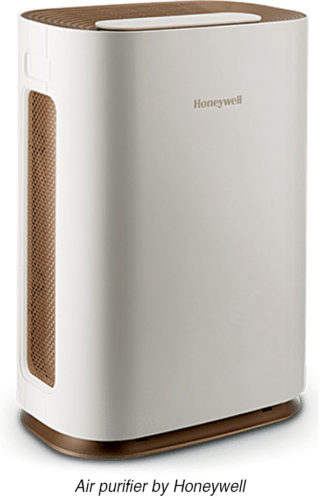 Air purifier by Honeywell