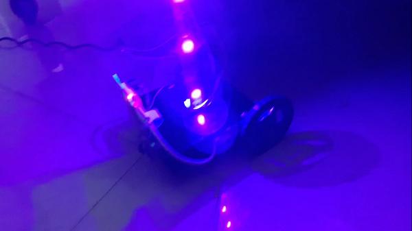 Hospital Sanitization robot