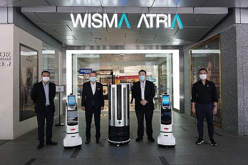 Disinfection Autonomous Robot For Fully Destroying Harmful Microbes